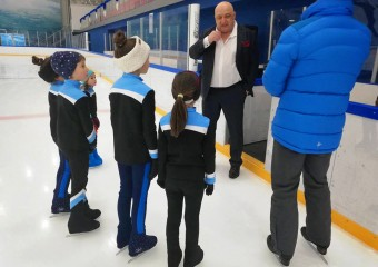 The Minister of sport visited Black Sea Ice Arena